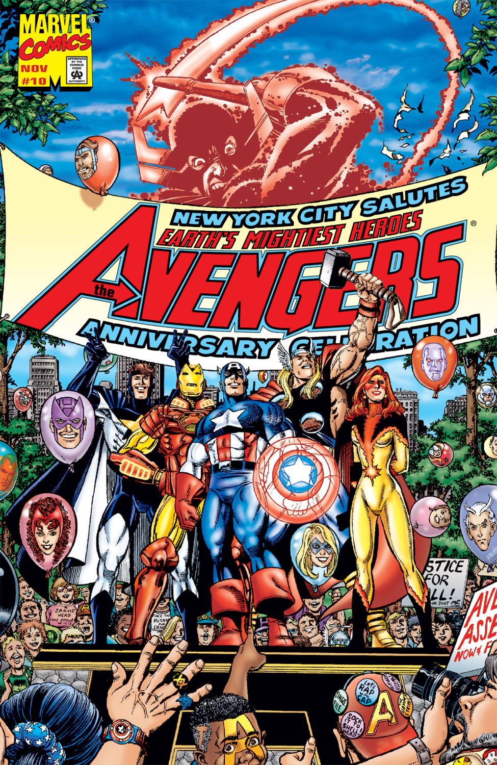 Read online Avengers (1998) comic -  Issue #10 - 1