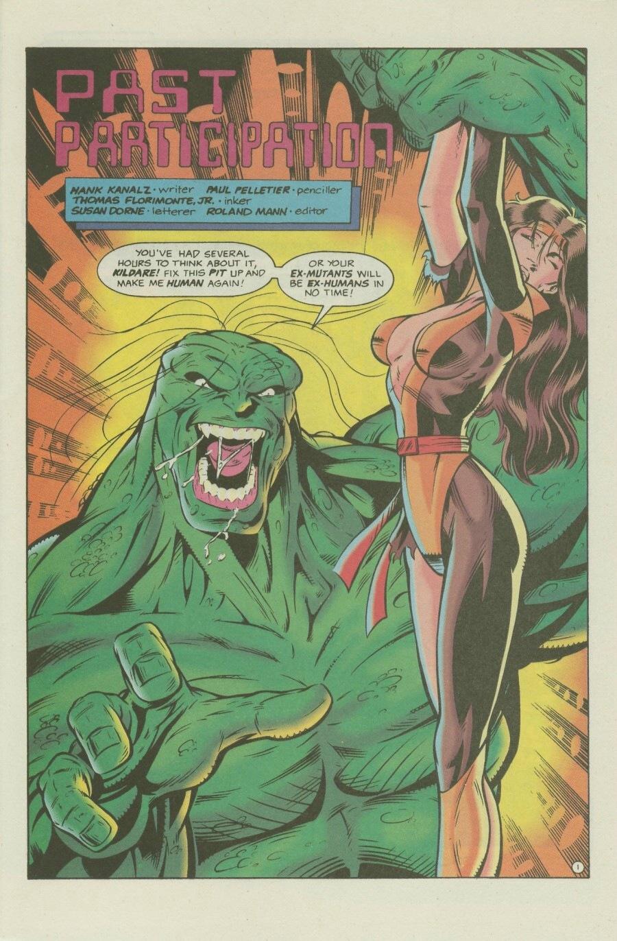 Read online Ex-Mutants comic -  Issue #7 - 3