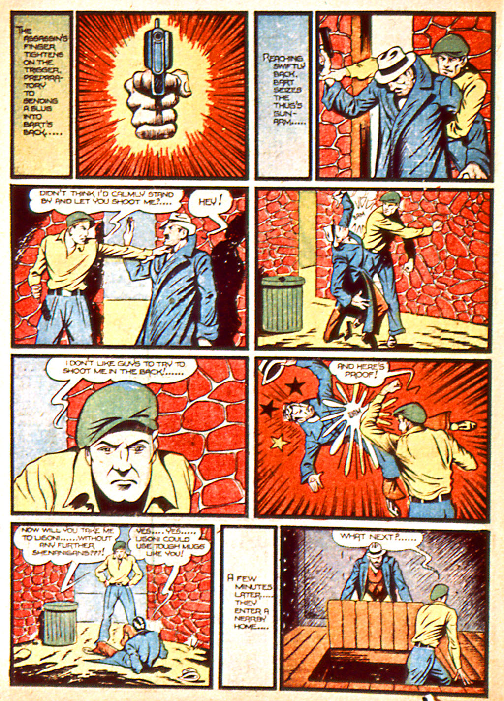 Read online Detective Comics (1937) comic -  Issue #37 - 19