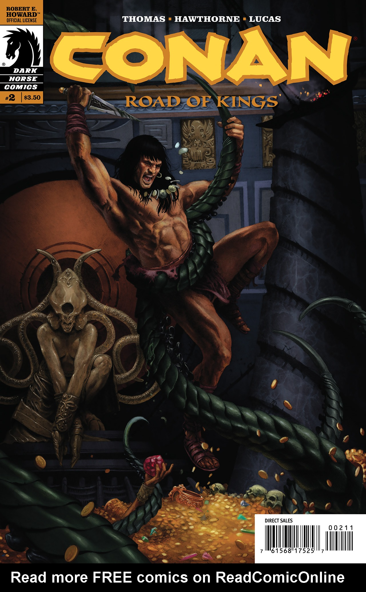Conan: Road of Kings 2 Page 1