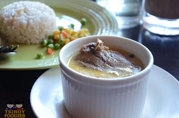 lengua in mushroon sauce