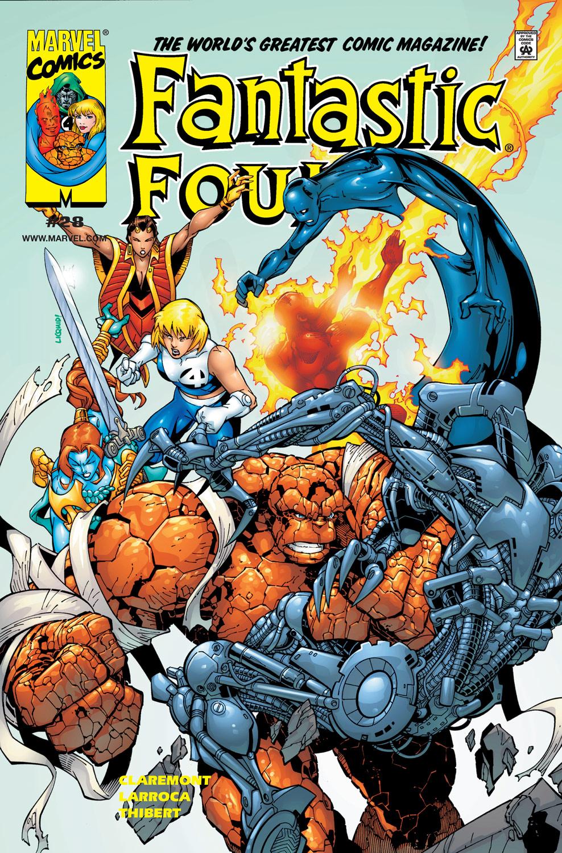 Fantastic Four (1998) 28 Page 1