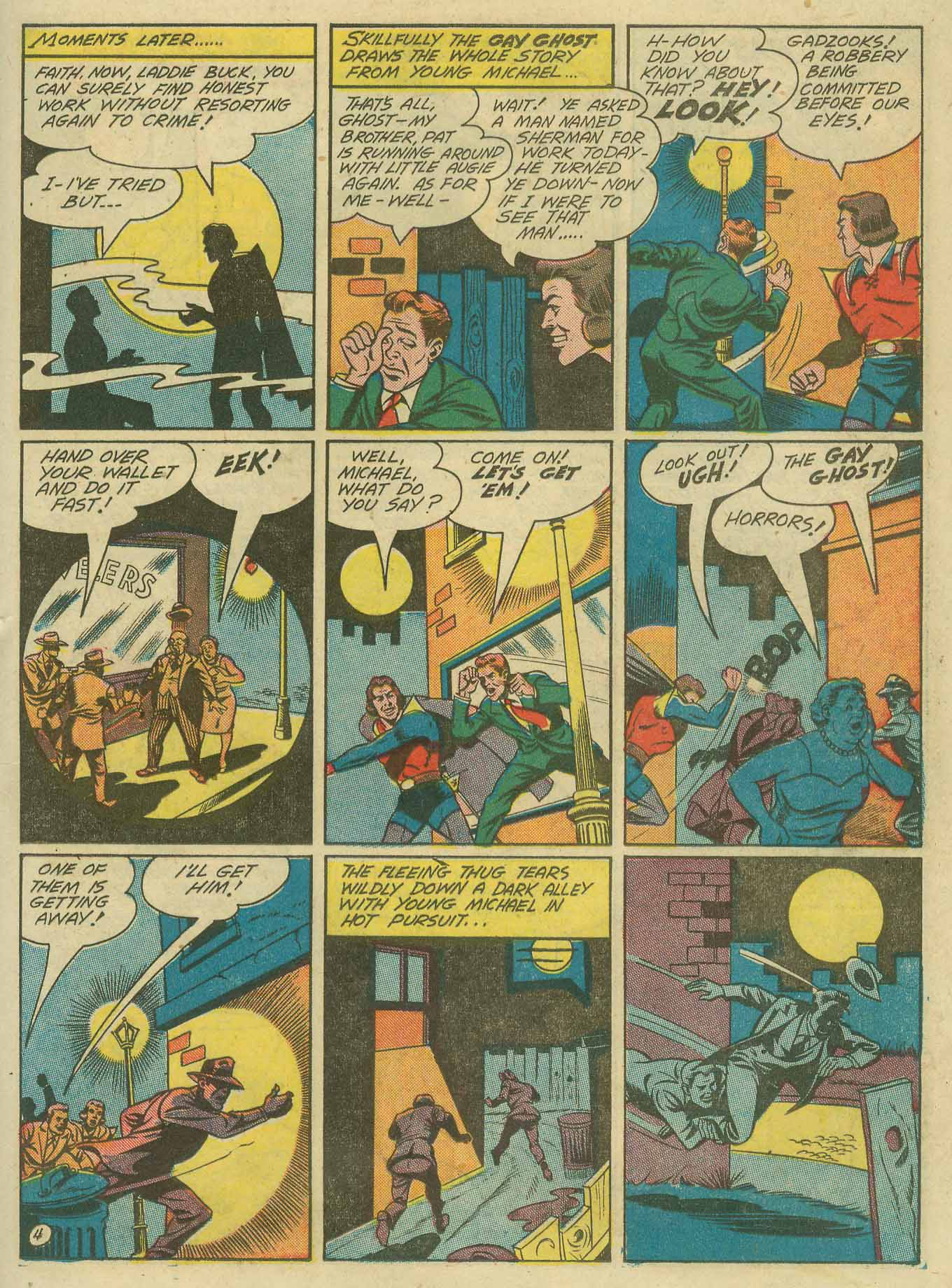 Read online Sensation (Mystery) Comics comic -  Issue #28 - 36