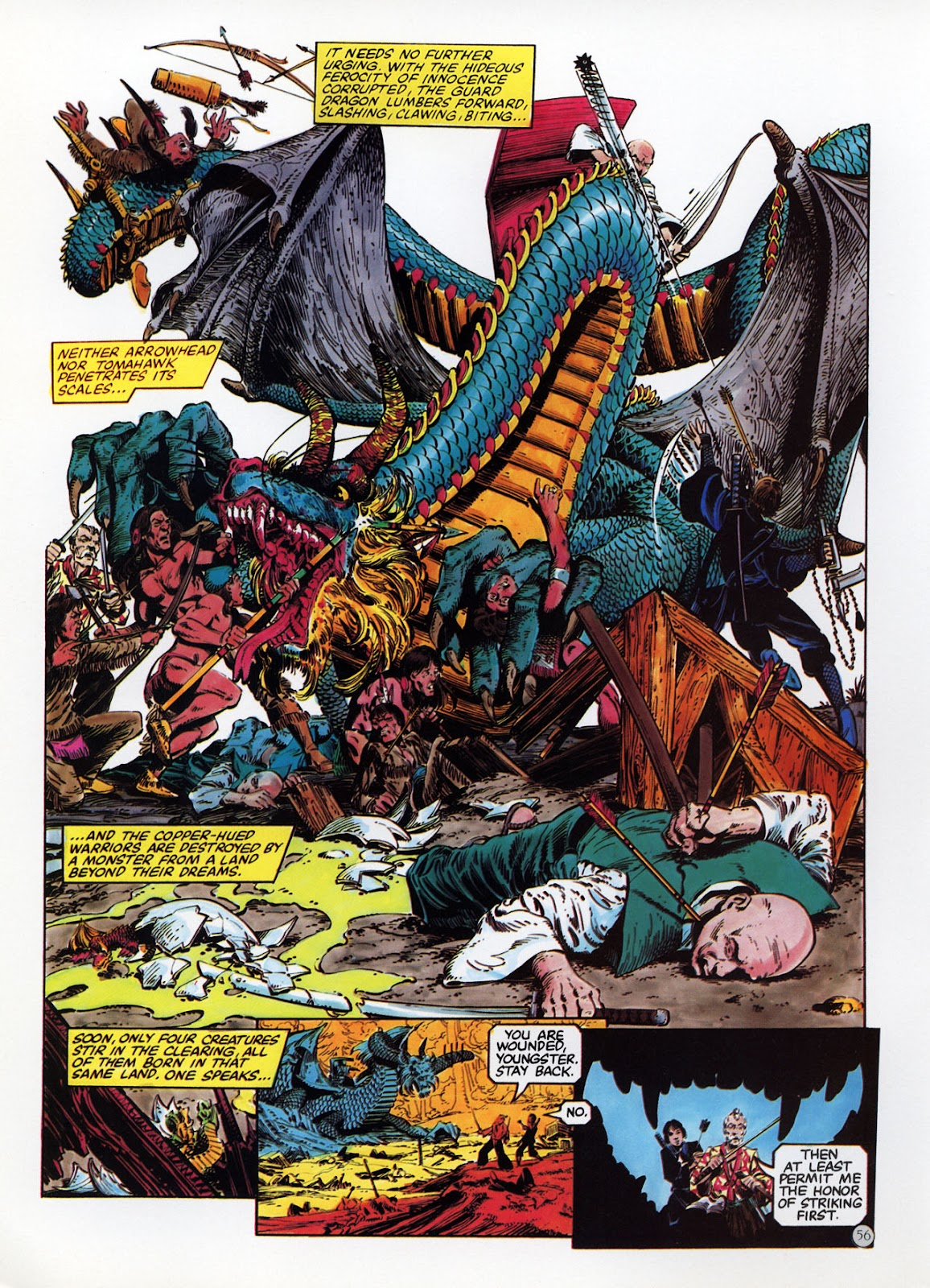 Read online Epic Graphic Novel: Last of the Dragons comic -  Issue # Full - 57