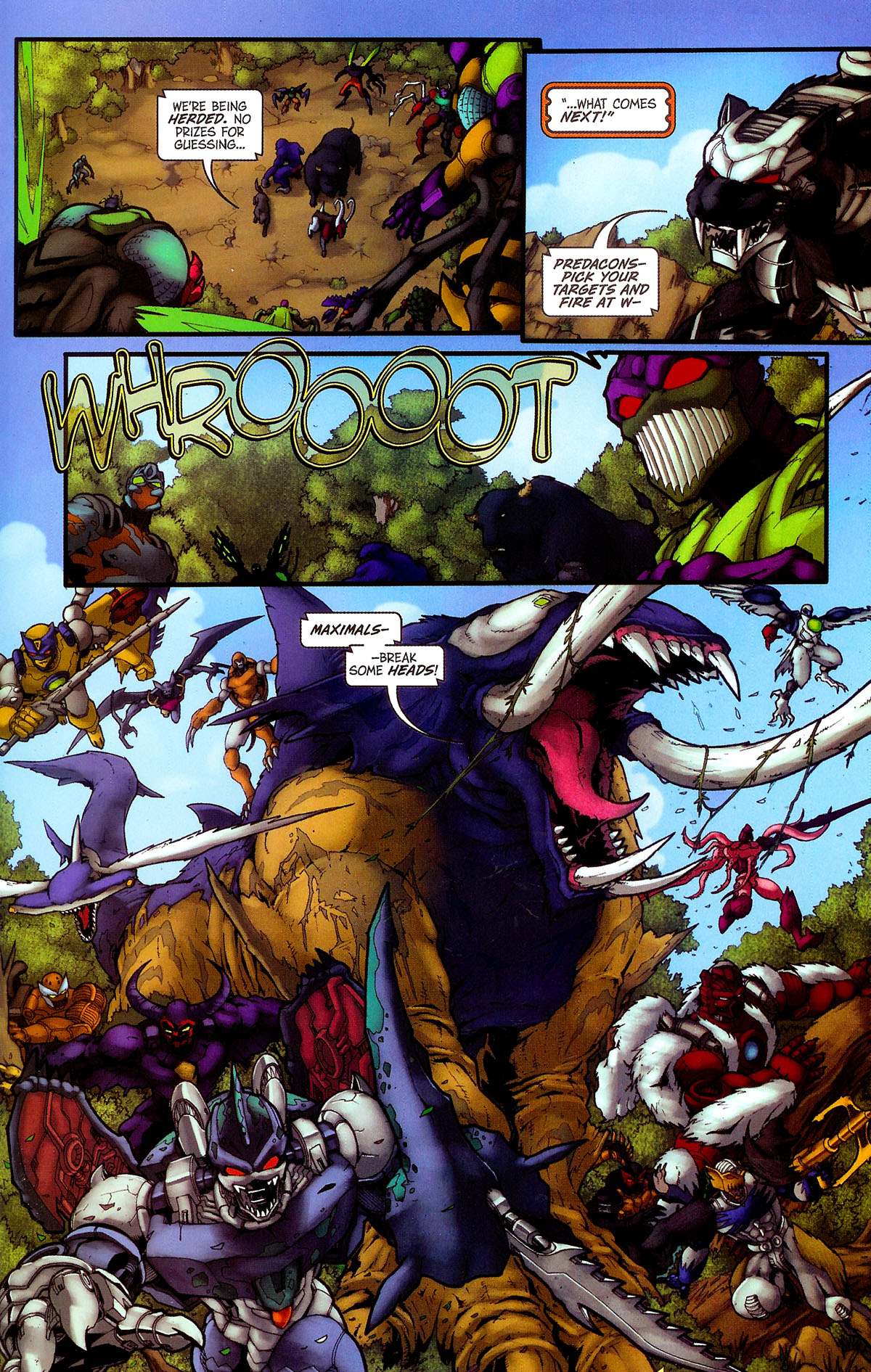 Read online Transformers, Beast Wars: The Gathering comic -  Issue #4 - 20