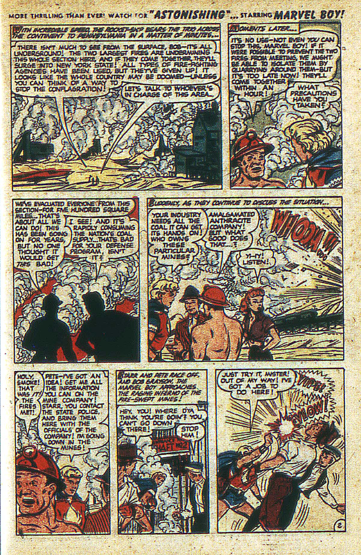 Read online Marvel Boy (1950) comic -  Issue #2 - 14