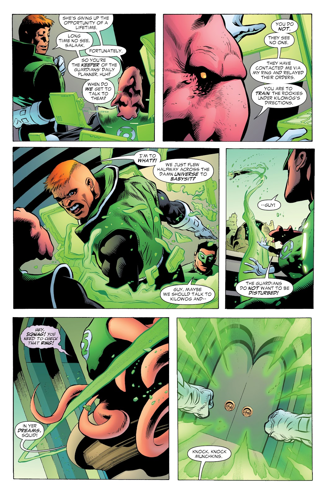 Read online Green Lantern by Geoff Johns comic -  Issue # TPB 1 (Part 2) - 97