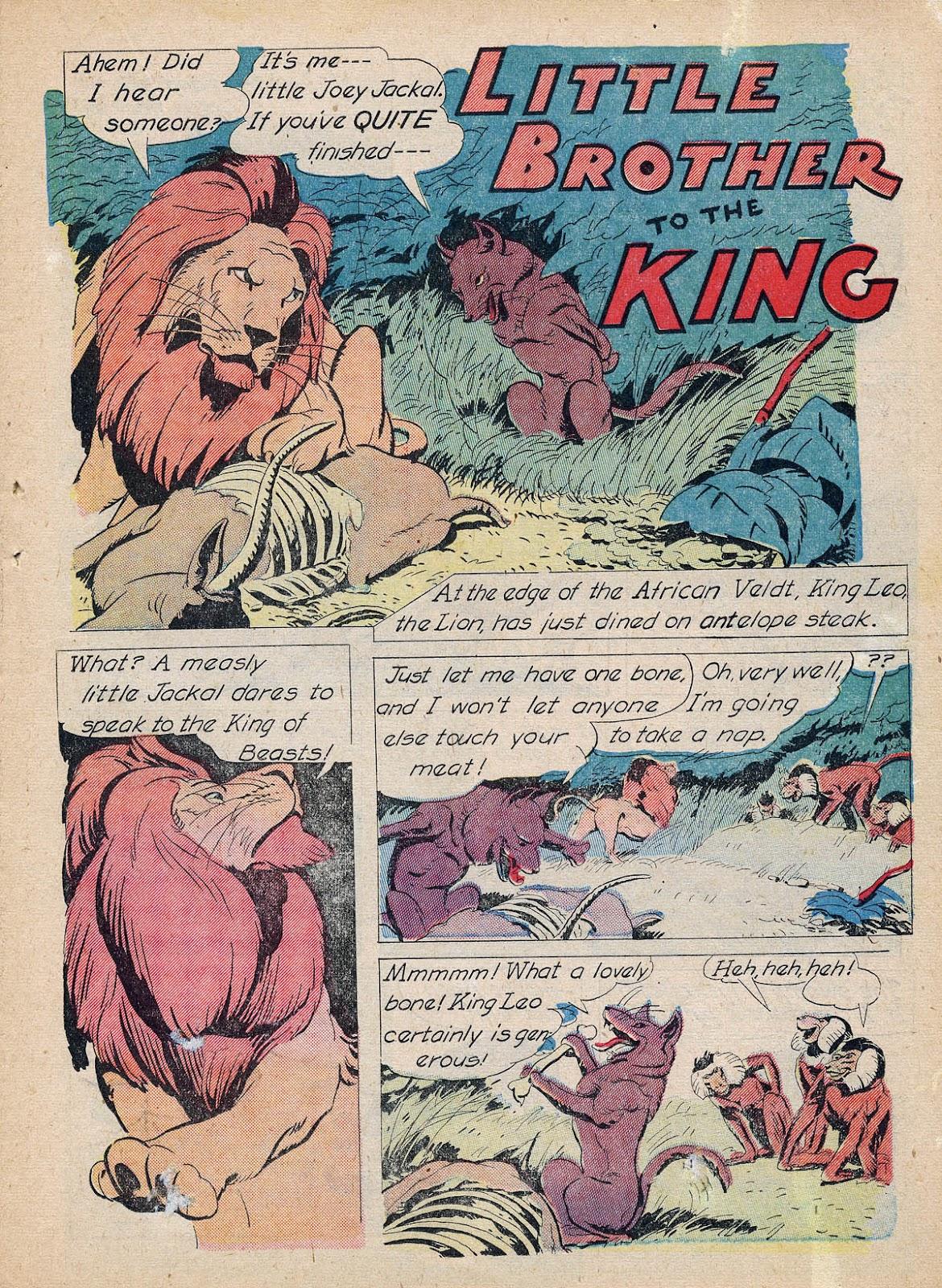 Read online Animal Comics comic -  Issue #7 - 29
