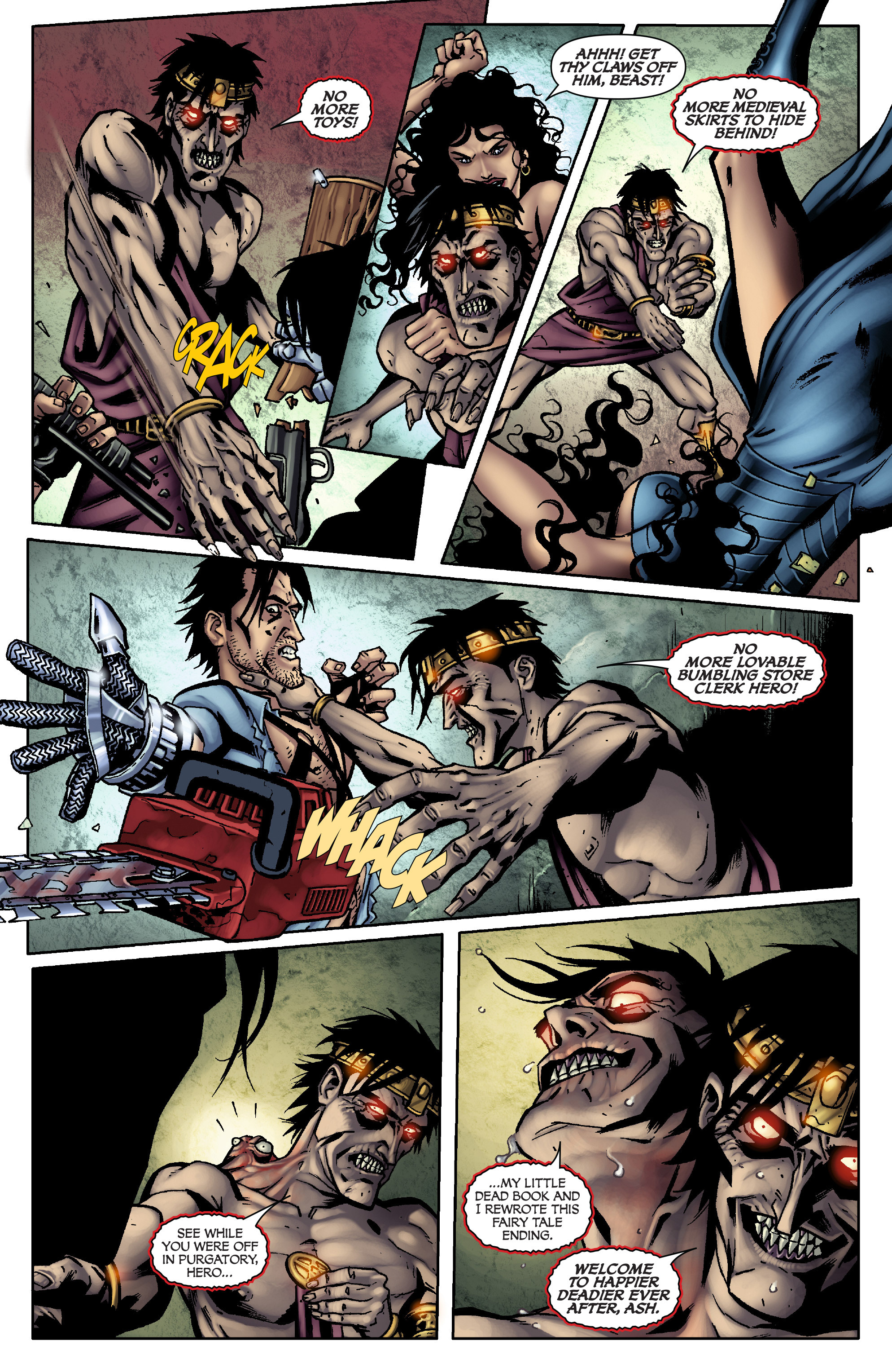 Read online Army of Darkness: From the Ashes comic -  Issue #Army of Darkness: From the Ashes TPB - 96