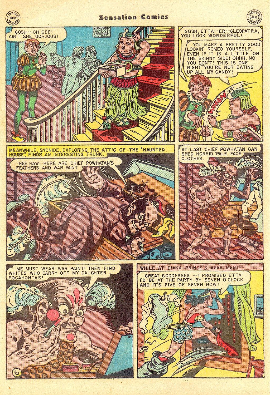 Read online Sensation (Mystery) Comics comic -  Issue #57 - 8