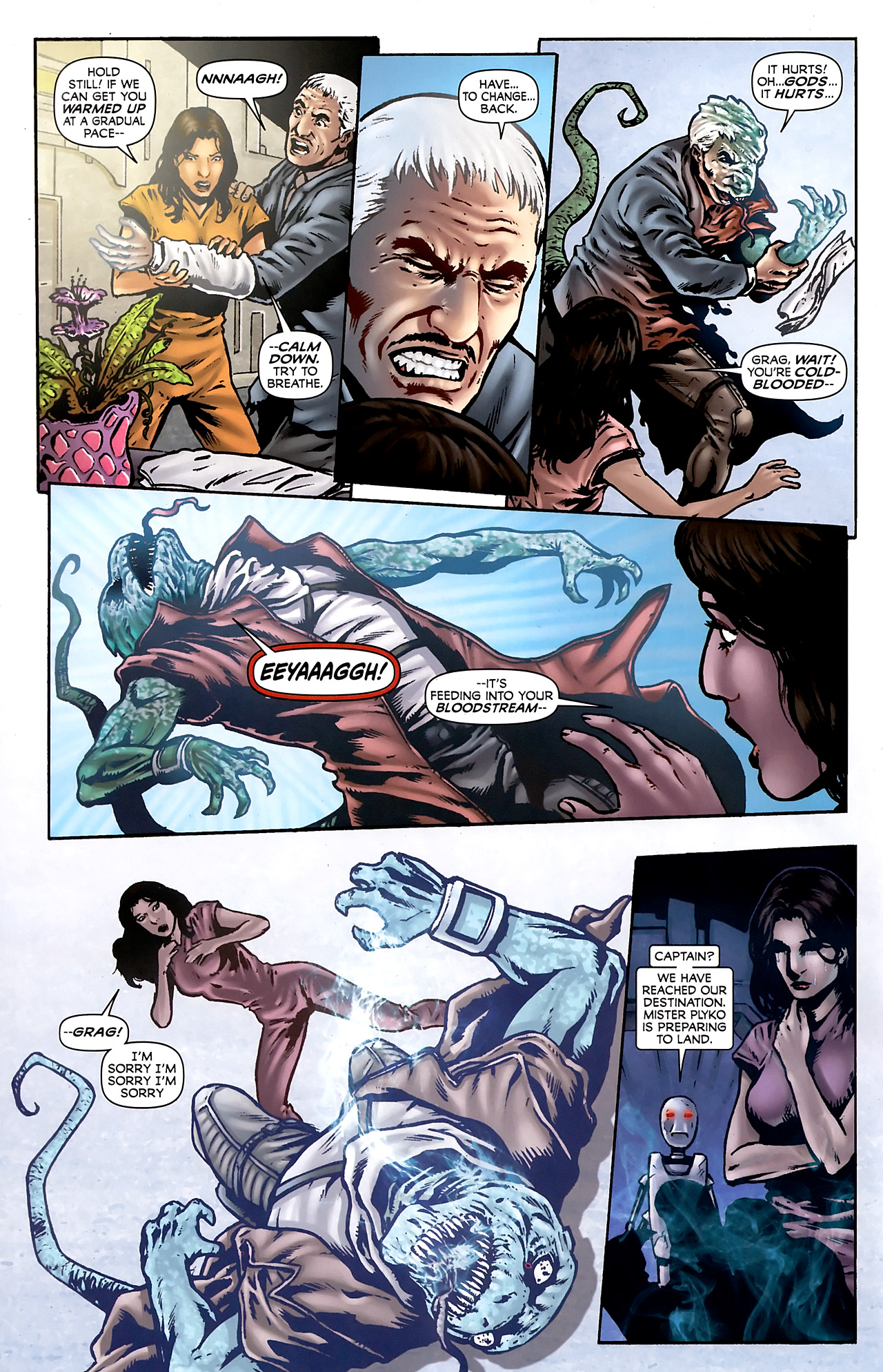 Read online Stargate Vala Mal Doran comic -  Issue #3 - 12