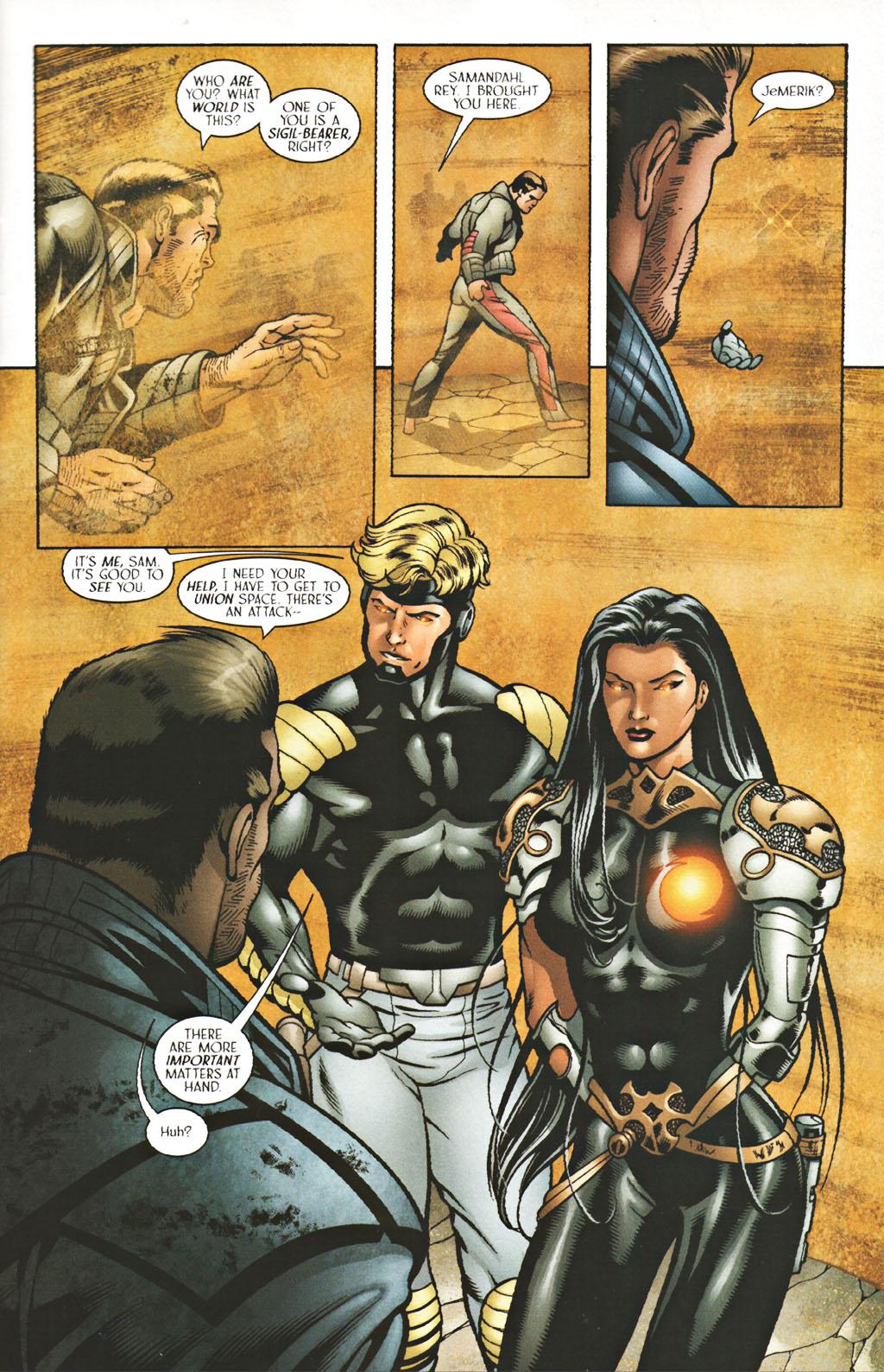Read online Sigil (2000) comic -  Issue #40 - 10