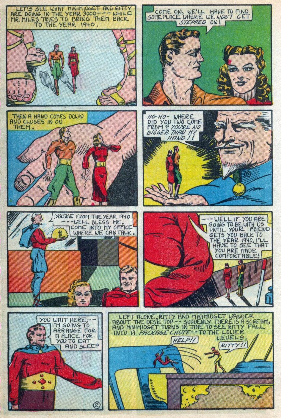 Read online Amazing Man Comics comic -  Issue #15 - 13