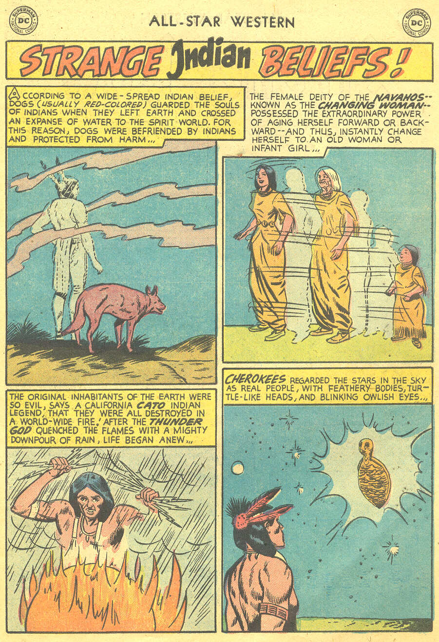 Read online All-Star Western (1951) comic -  Issue #88 - 27