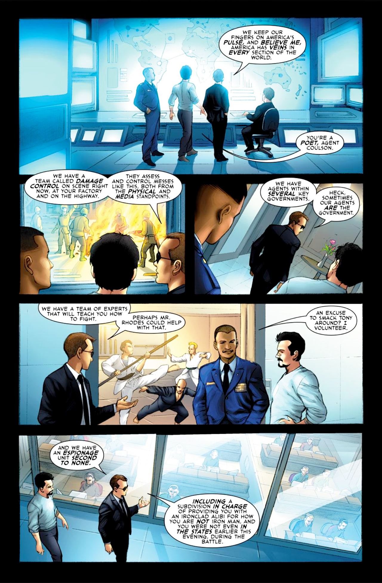 Read online Iron Man: Fast Friends comic -  Issue #2 - 6