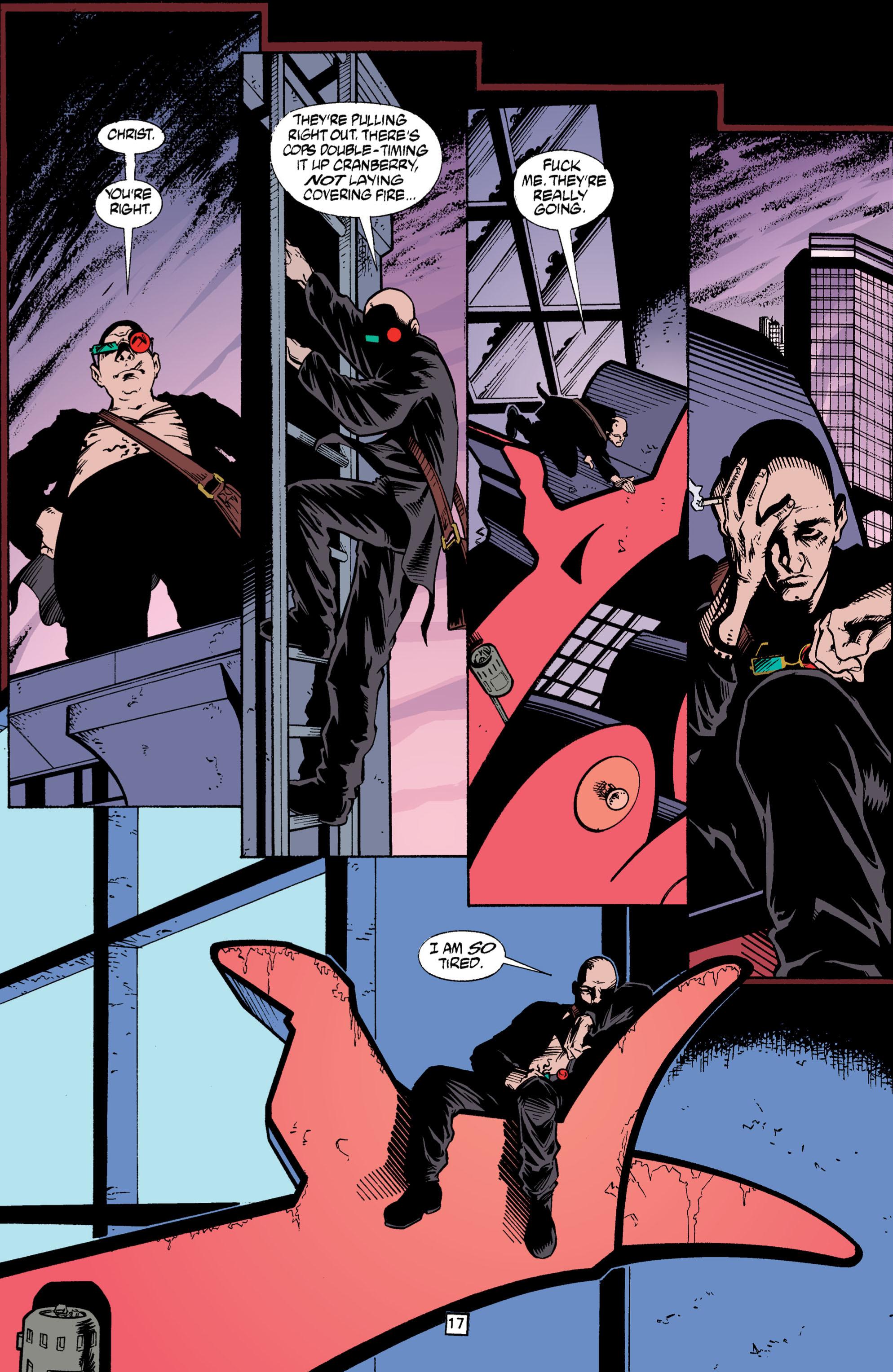 Read online Transmetropolitan comic -  Issue #3 - 17