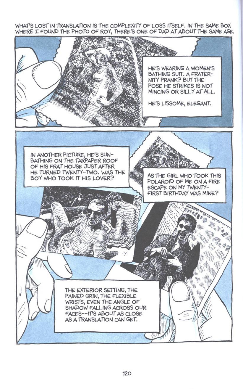 Read online Fun Home: A Family Tragicomic comic -  Issue # TPB - 126