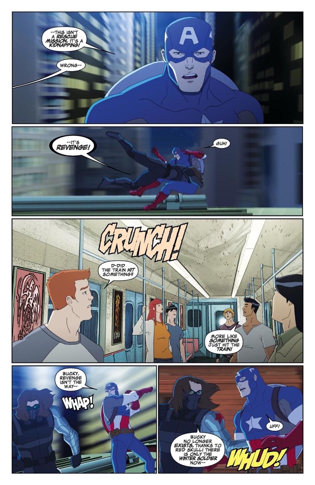 Read online Marvel Universe Avengers Assemble Season 2 comic -  Issue #4 - 12
