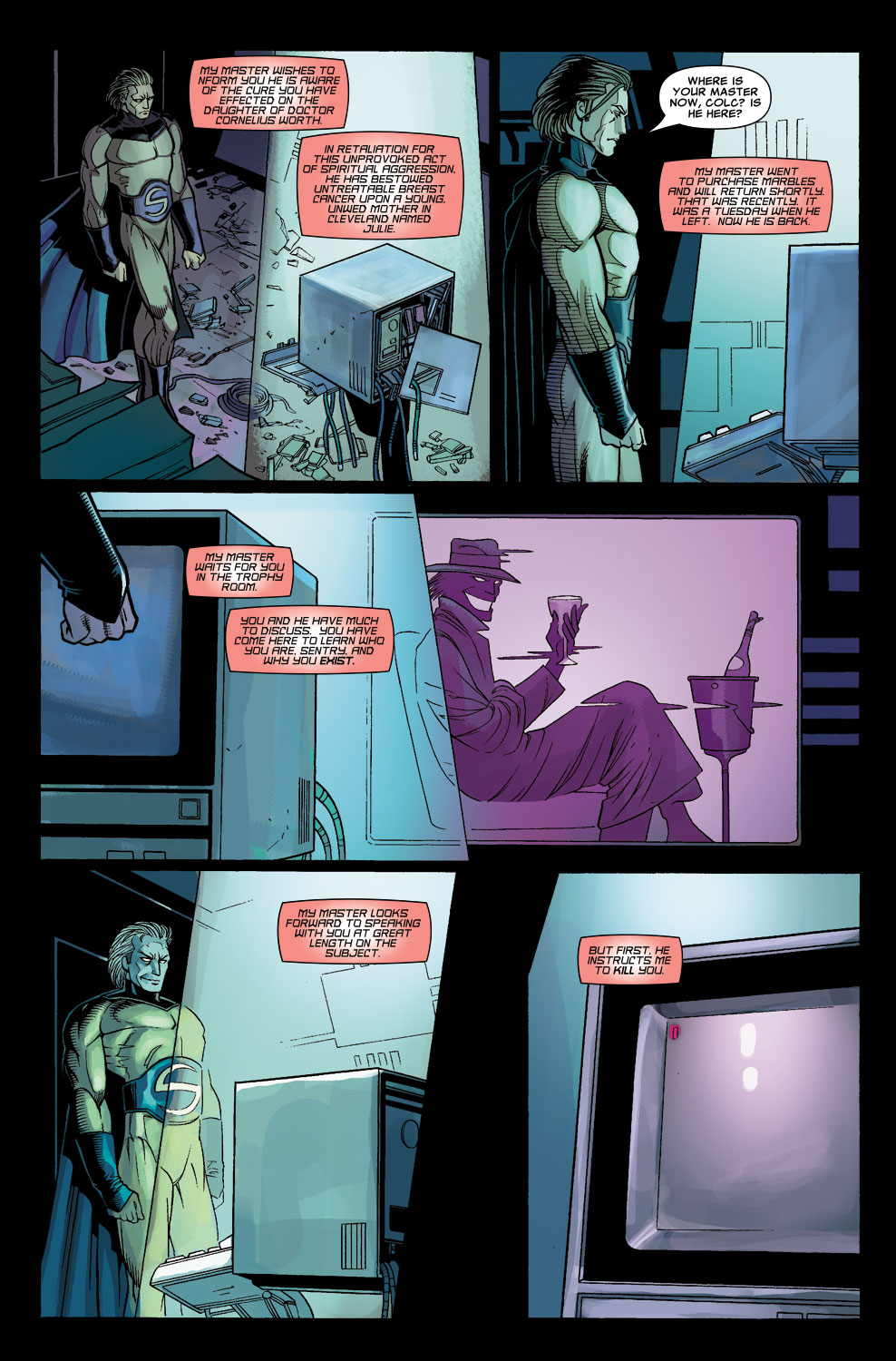 Read online Sentry (2006) comic -  Issue #8 - 5