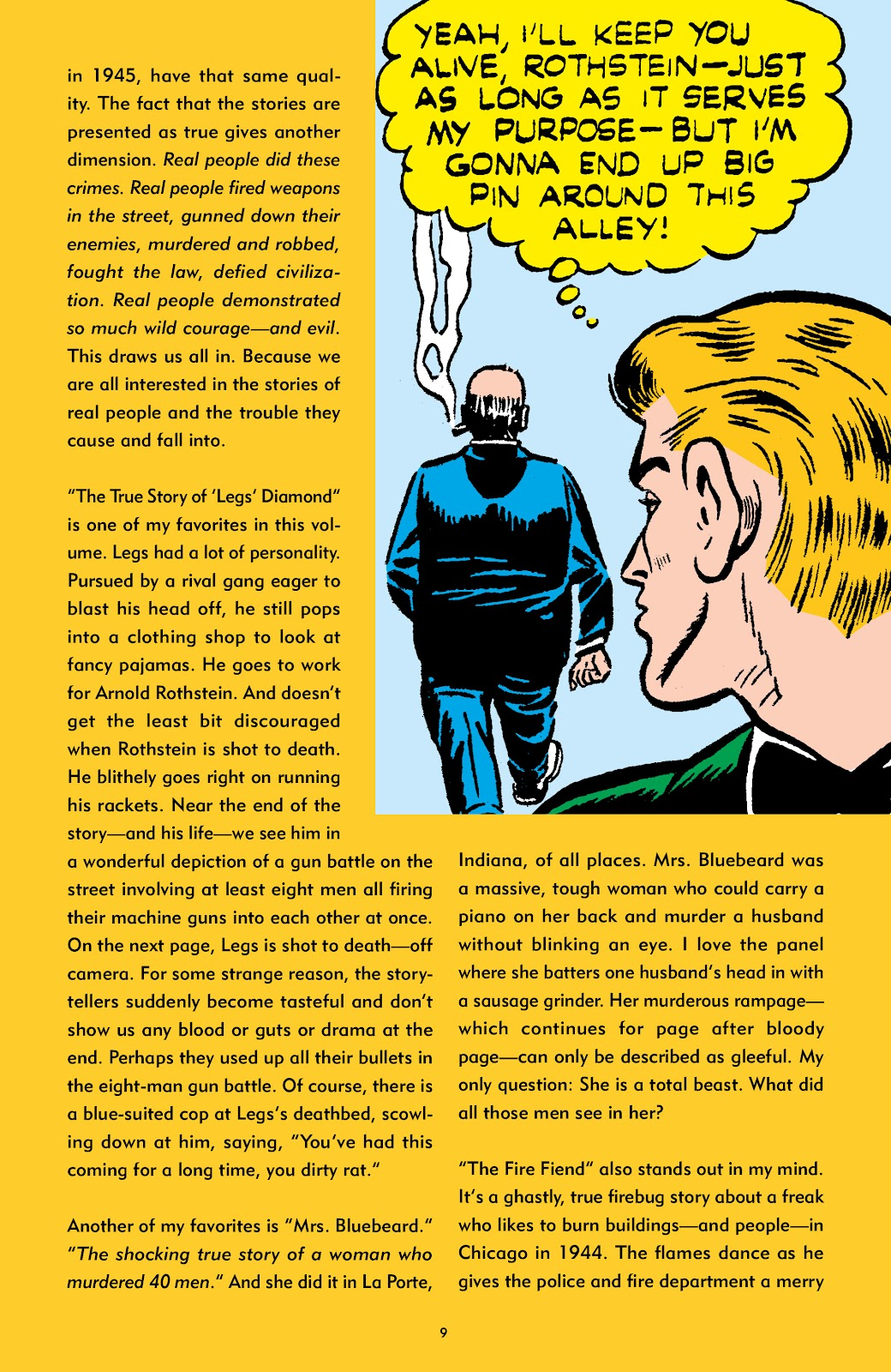 Read online Crime Does Not Pay Archives comic -  Issue # TPB 6 (Part 1) - 9