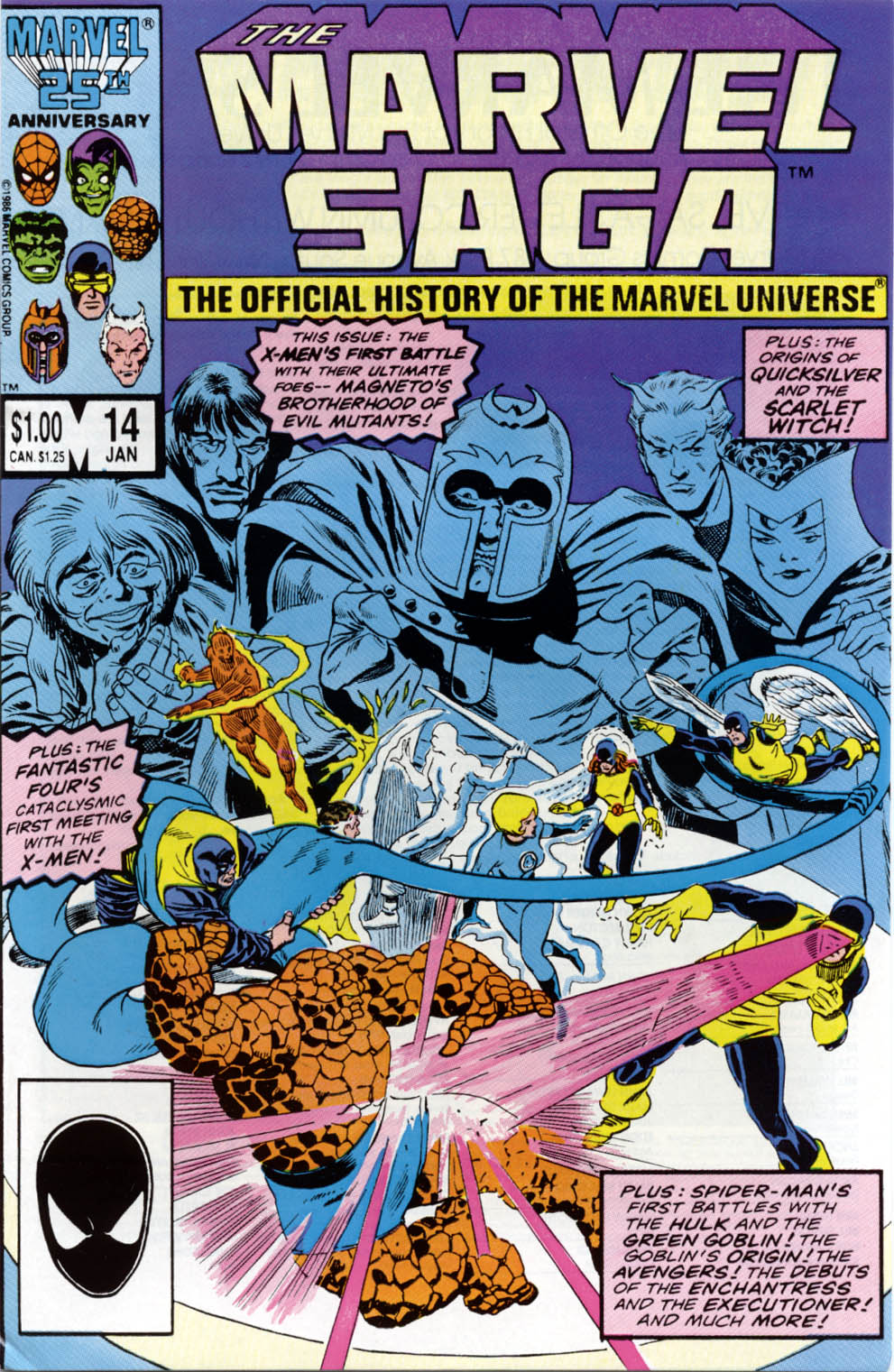 Marvel Saga: The Official History of the Marvel Universe issue 14 - Page 1