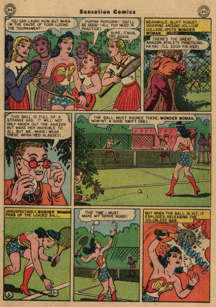 Read online Sensation (Mystery) Comics comic -  Issue #61 - 7