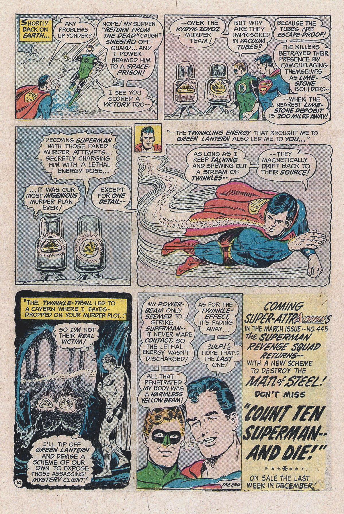 Read online Action Comics (1938) comic -  Issue #444 - 21