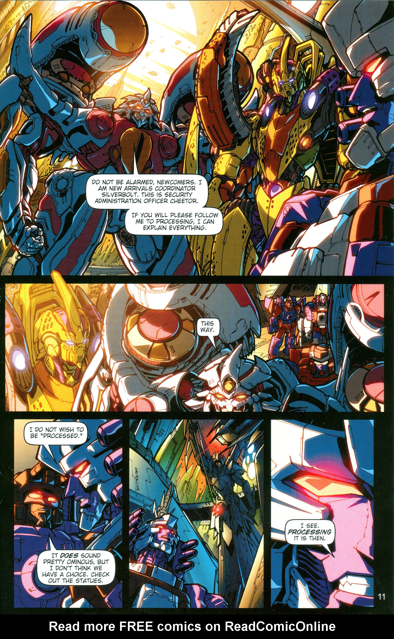 Read online Transformers: Collectors' Club comic -  Issue #19 - 11