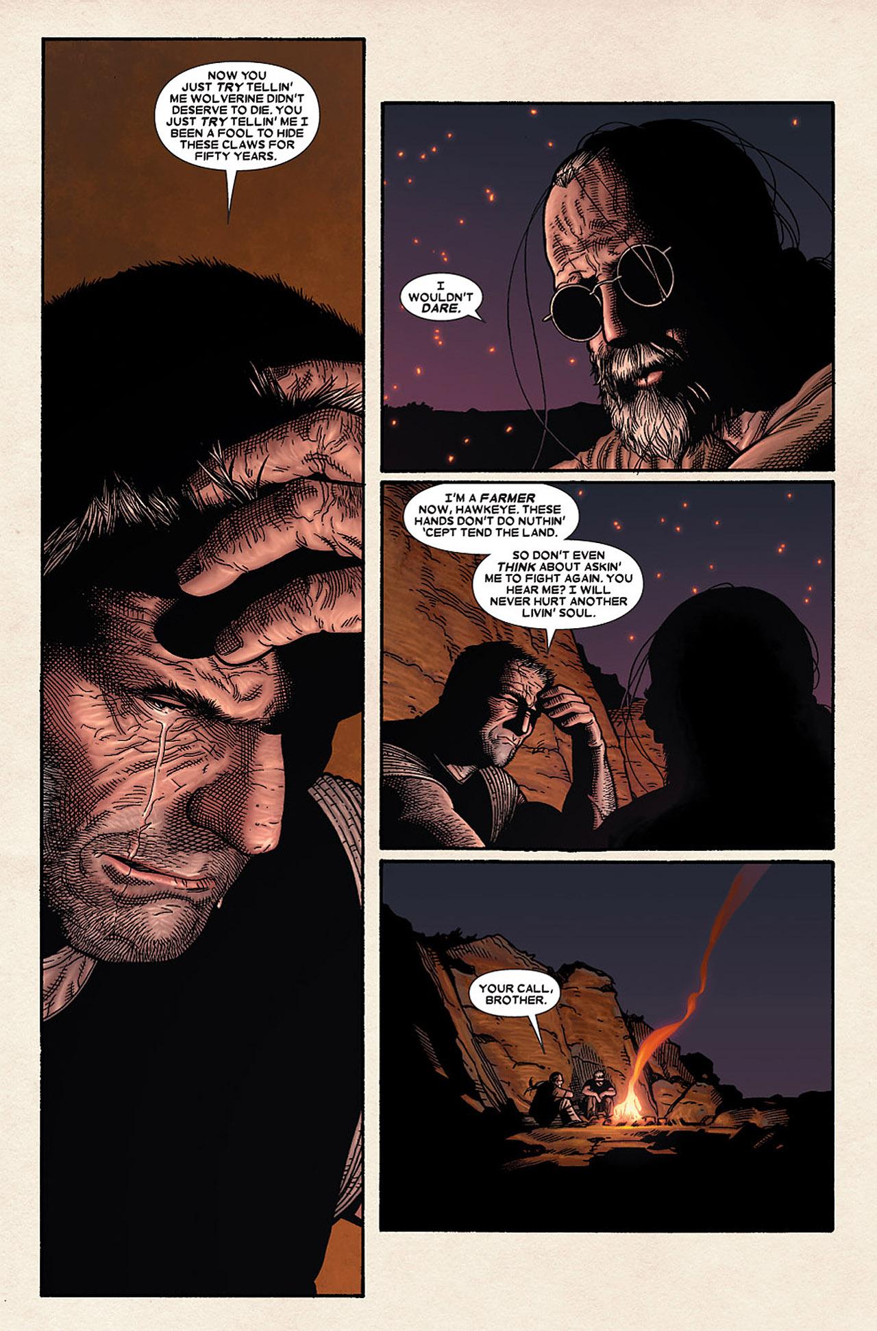 Read online Wolverine: Old Man Logan comic -  Issue # Full - 111