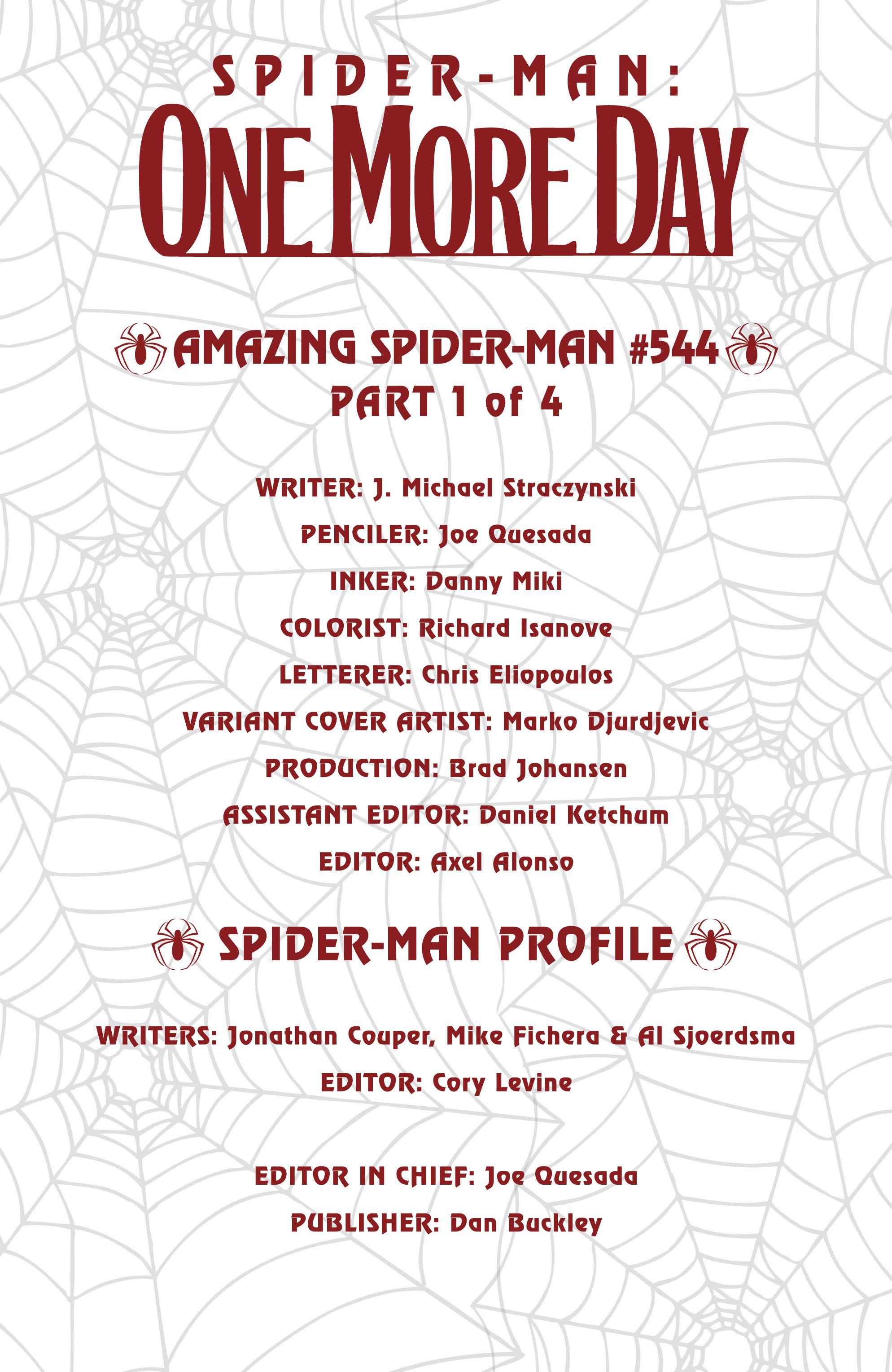 The Amazing Spider-Man (1963) 544 Page 1