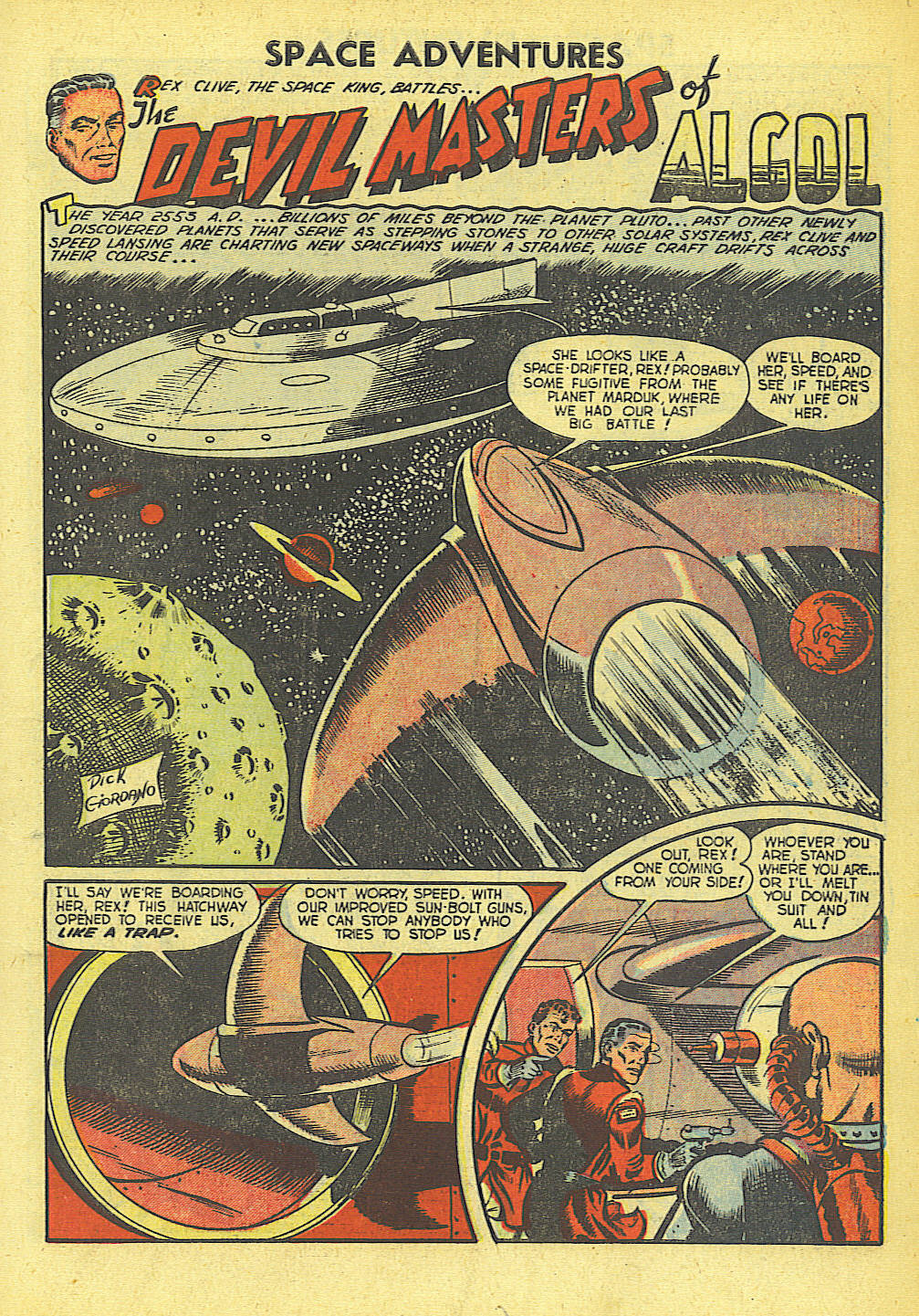 Space Adventures (1952) issue 4 - Page 2