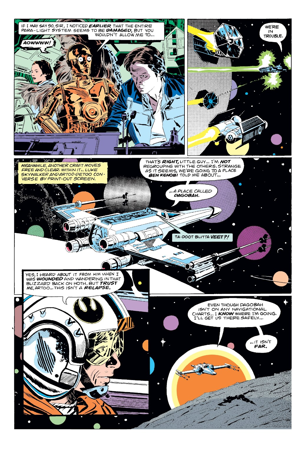 Read online Star Wars Legends: The Original Marvel Years - Epic Collection comic -  Issue # TPB 3 (Part 1) - 53