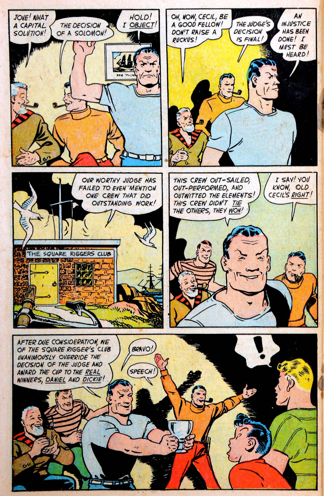 Read online Famous Funnies comic -  Issue #194 - 34