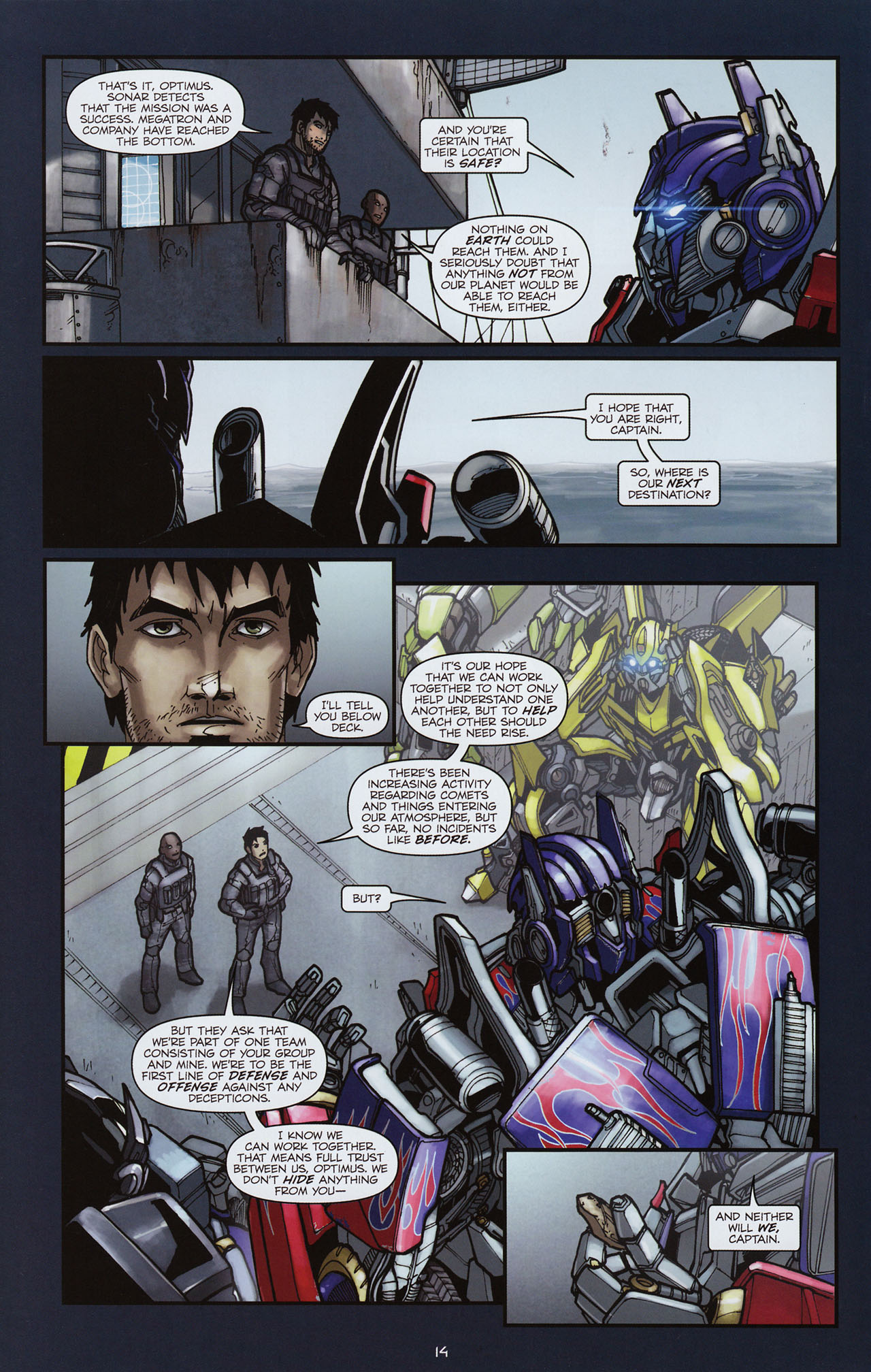 Read online Transformers: Alliance comic -  Issue #3 - 15
