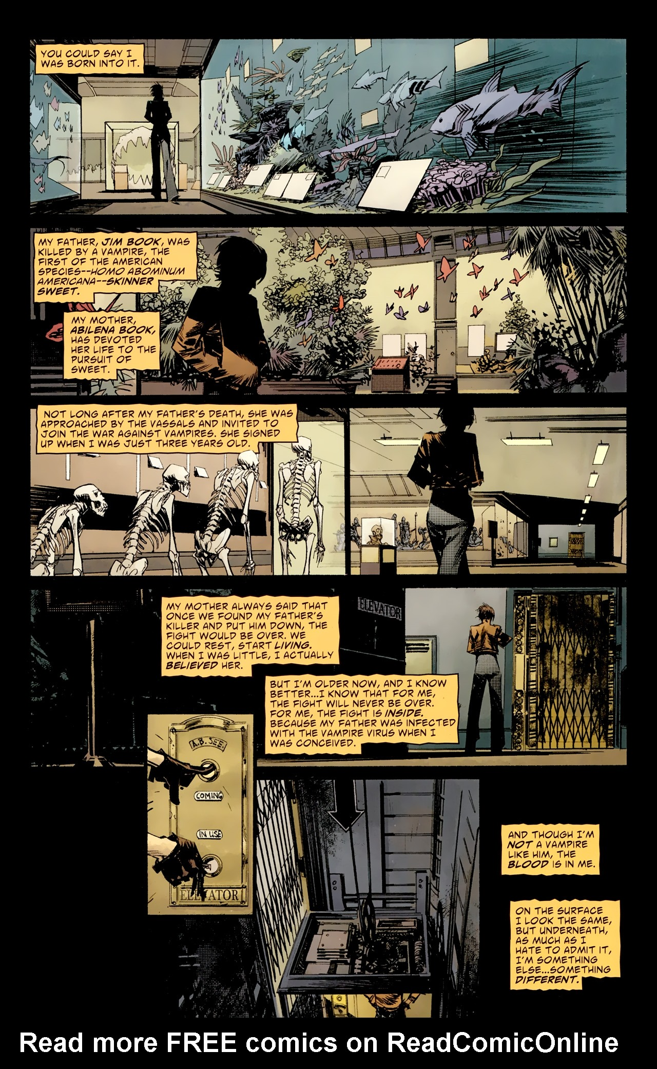 Read online American Vampire: Survival of the Fittest comic -  Issue #1 - 11