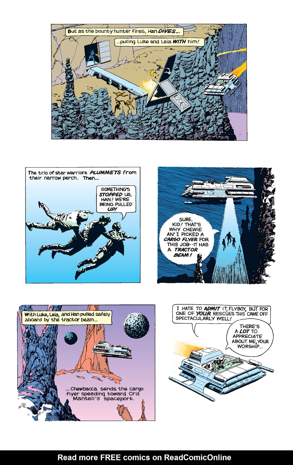 Read online Star Wars Legends: The Newspaper Strips - Epic Collection comic -  Issue # TPB (Part 5) - 14