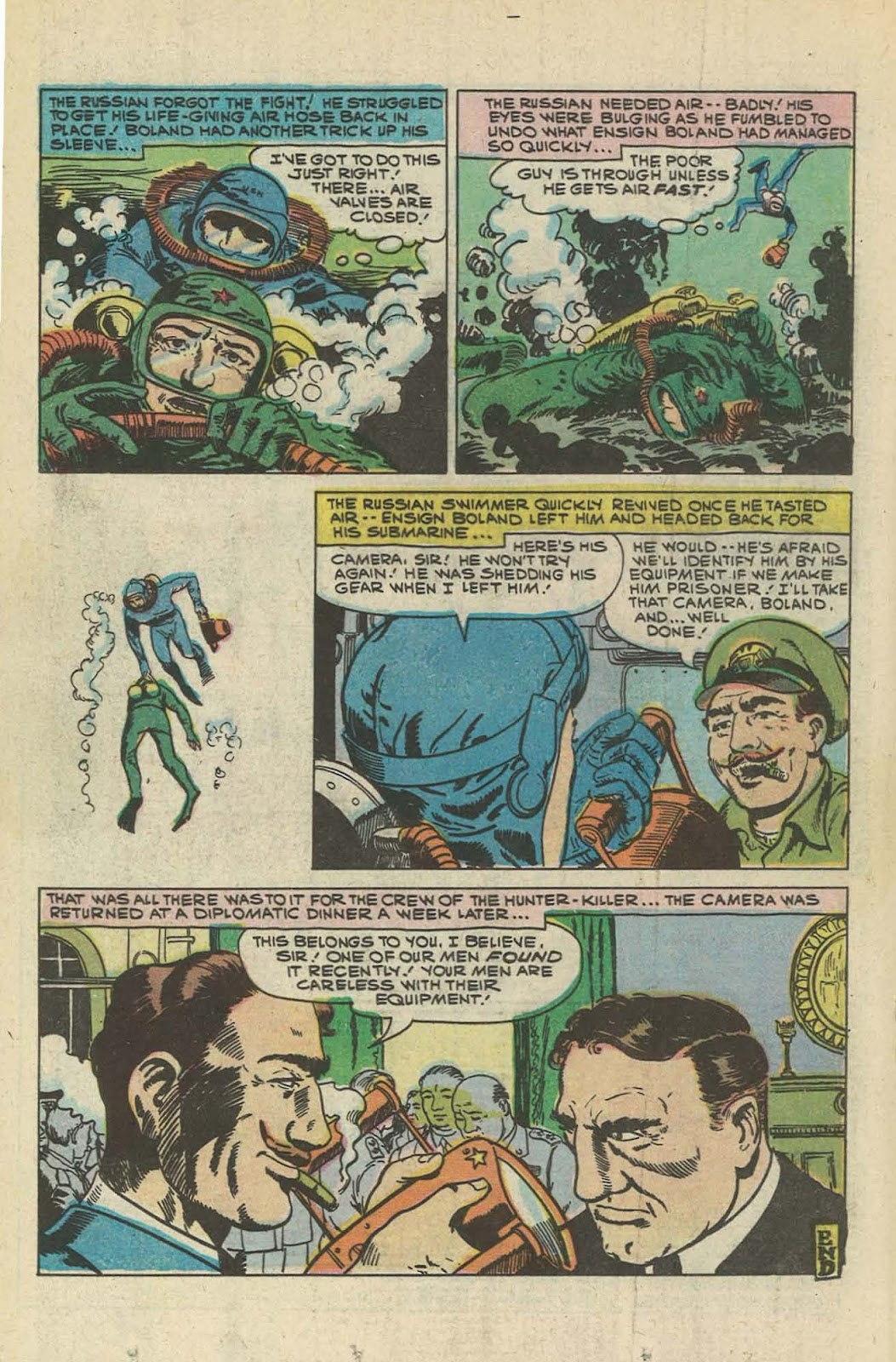 Read online Fightin' Navy comic -  Issue #129 - 18