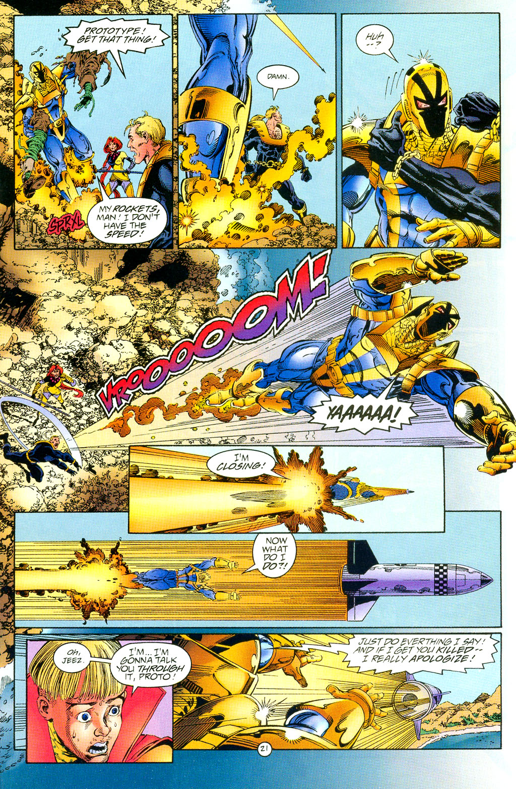 Read online UltraForce (1994) comic -  Issue #3 - 21