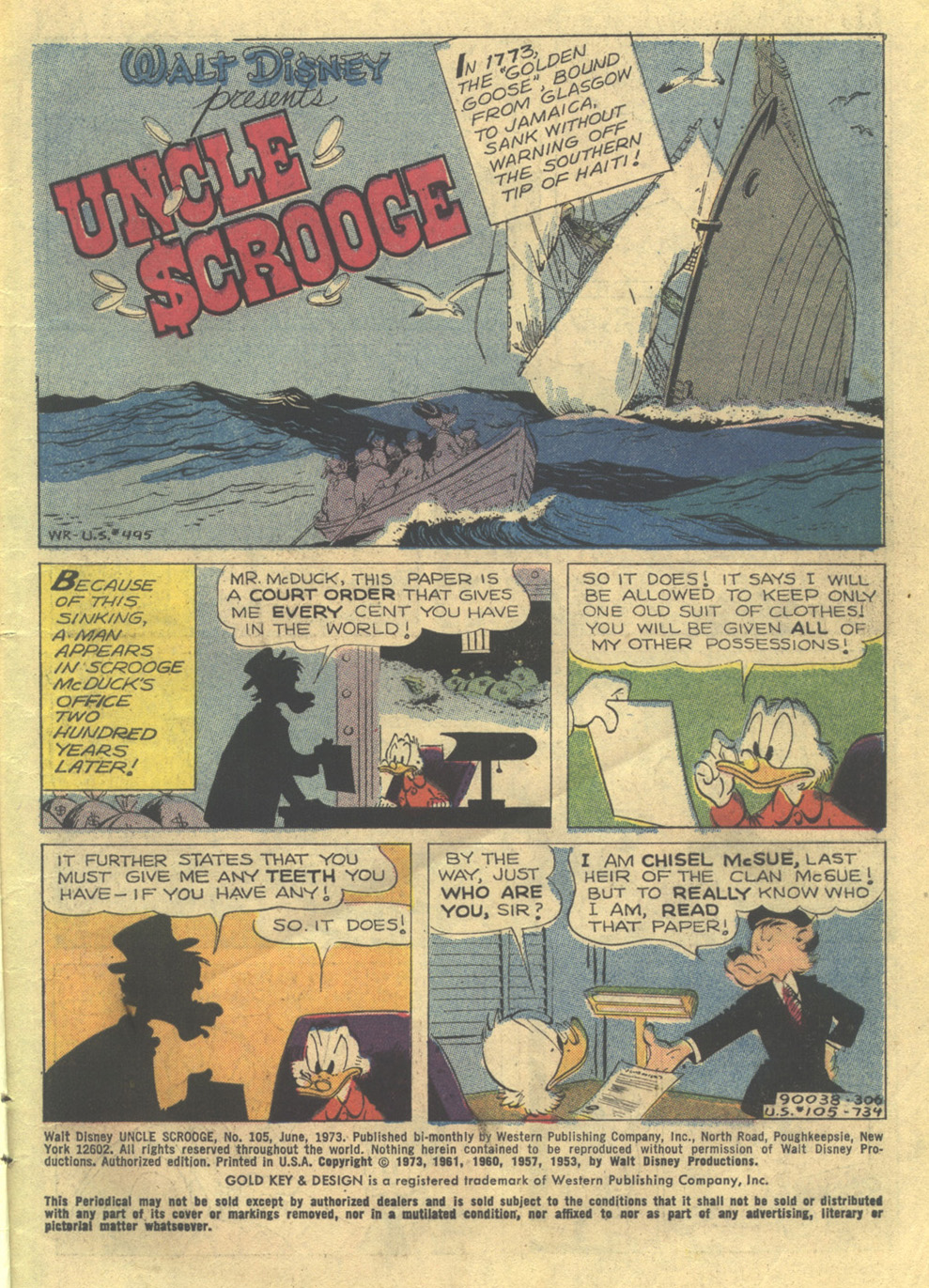 Read online Uncle Scrooge (1953) comic -  Issue #105 - 3