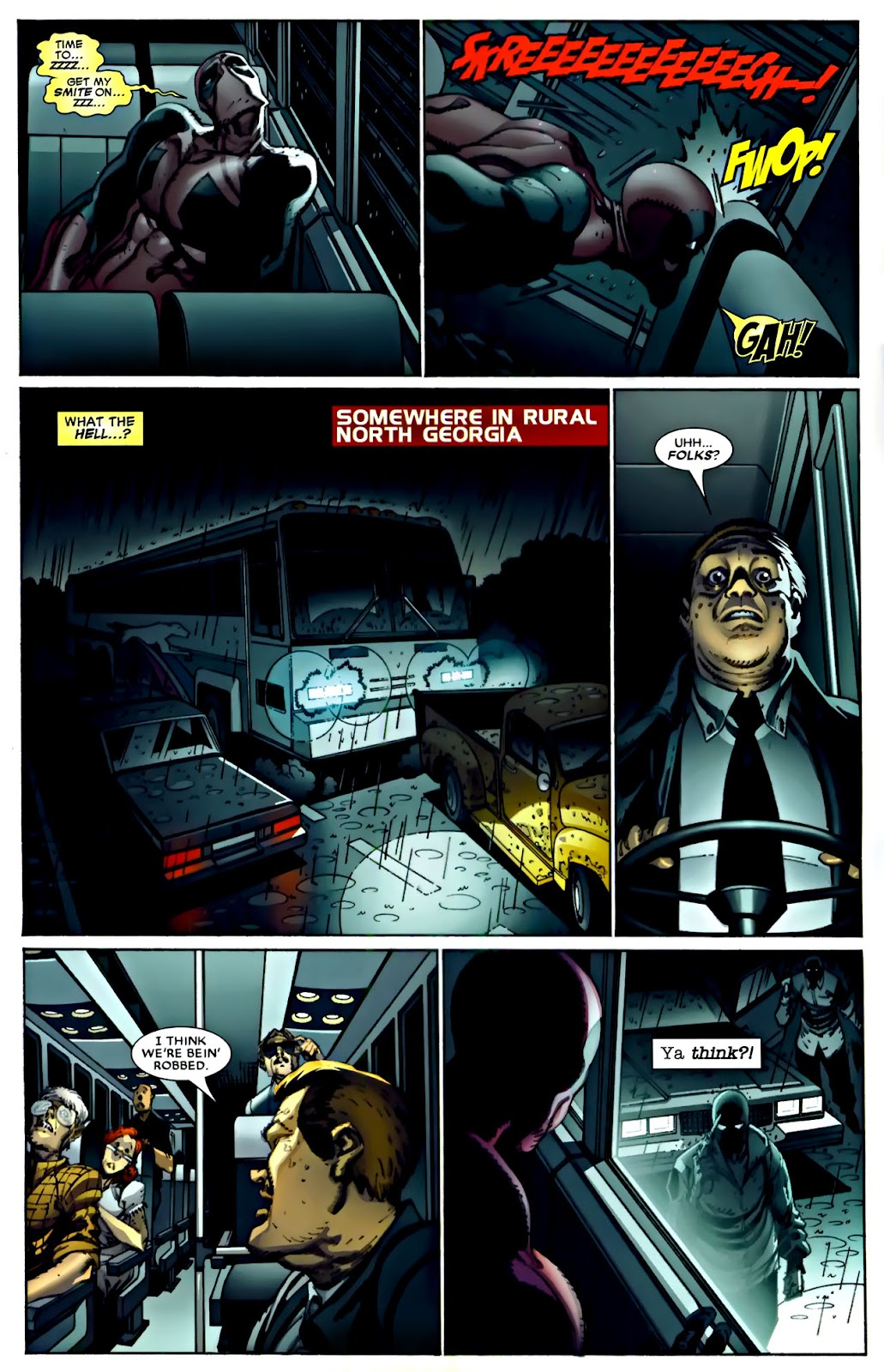 Read online Deadpool (2008) comic -  Issue #22 - 5