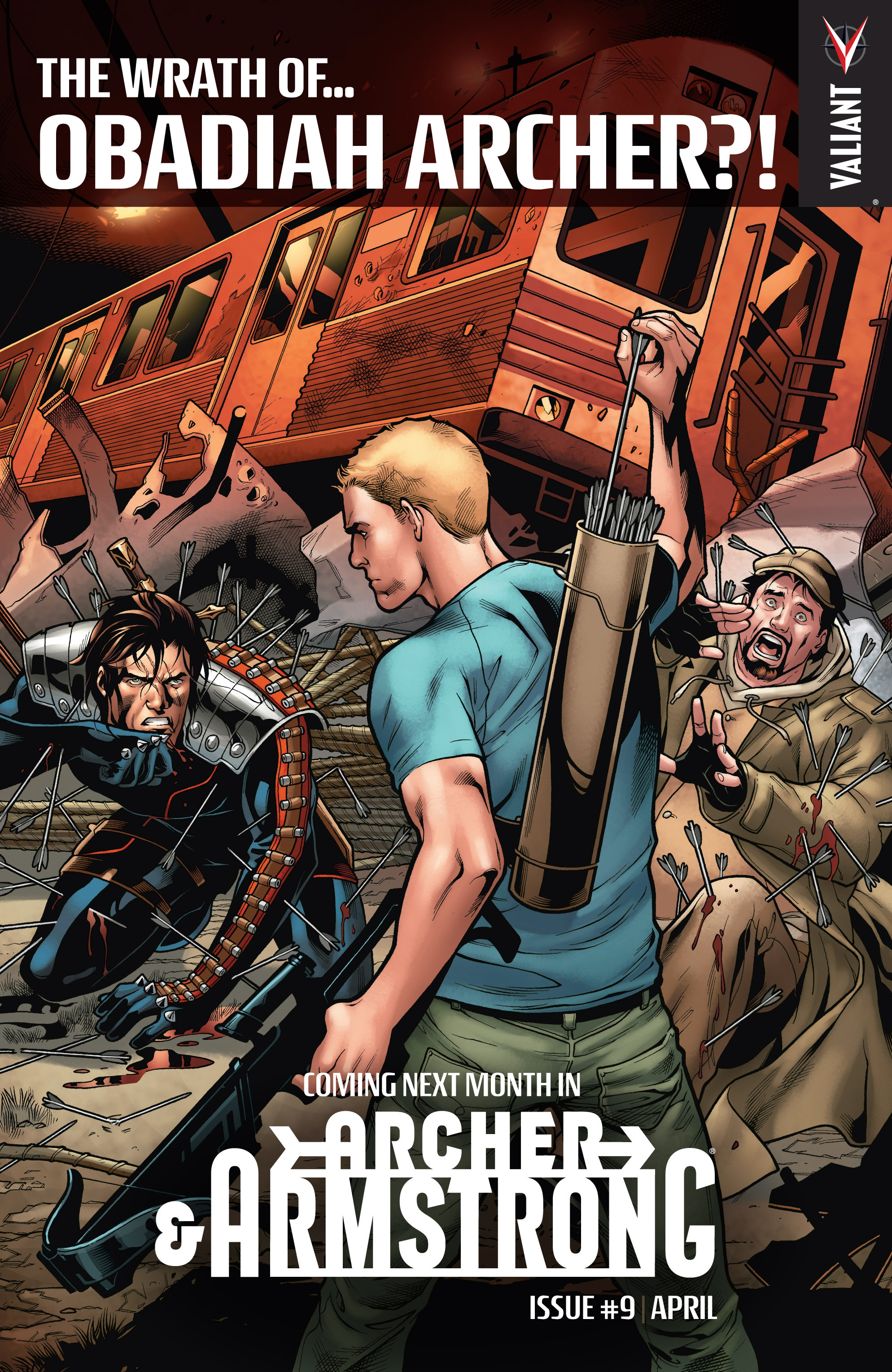 Read online Archer and Armstrong comic -  Issue #8 - 25