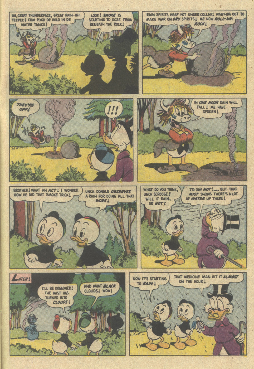 Read online Uncle Scrooge (1953) comic -  Issue #220 - 31