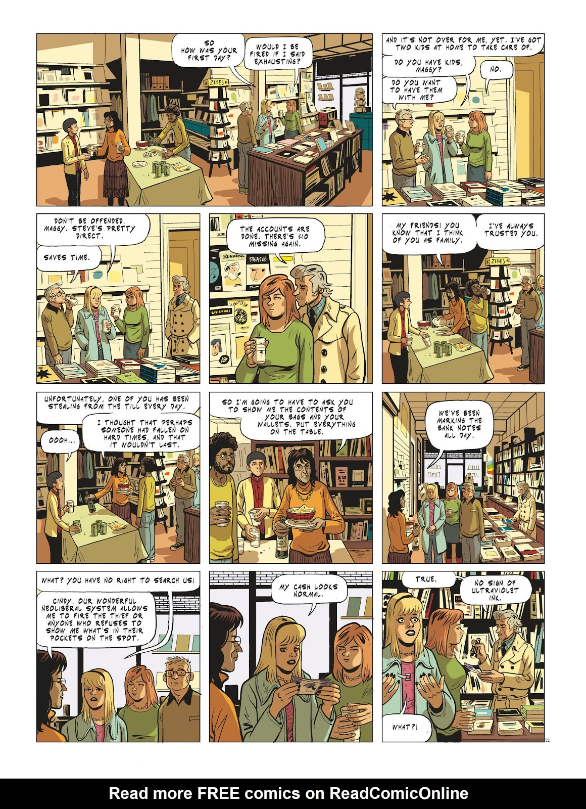 Read online Maggy Garrisson comic -  Issue #3 - 24