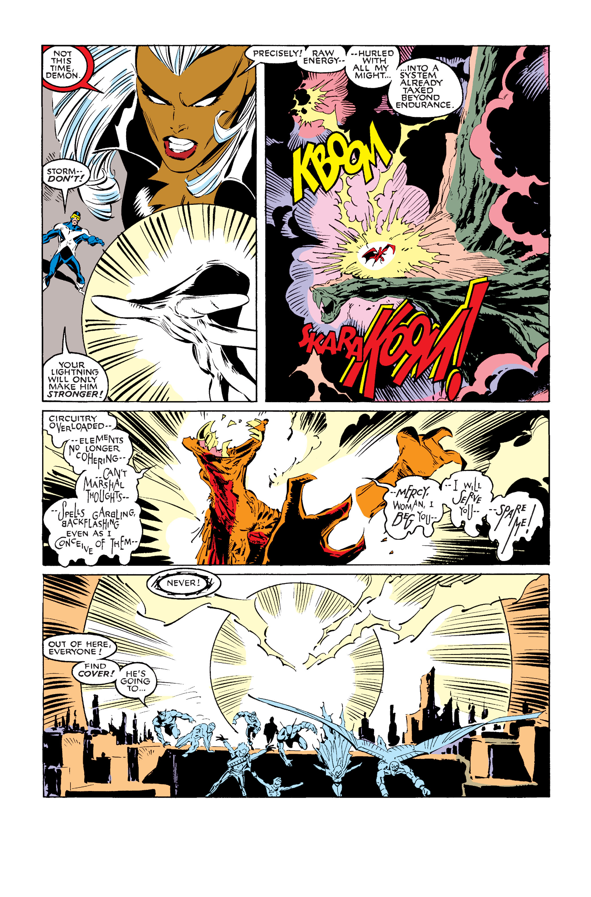 Read online Uncanny X-Men (1963) comic -  Issue #242 - 36
