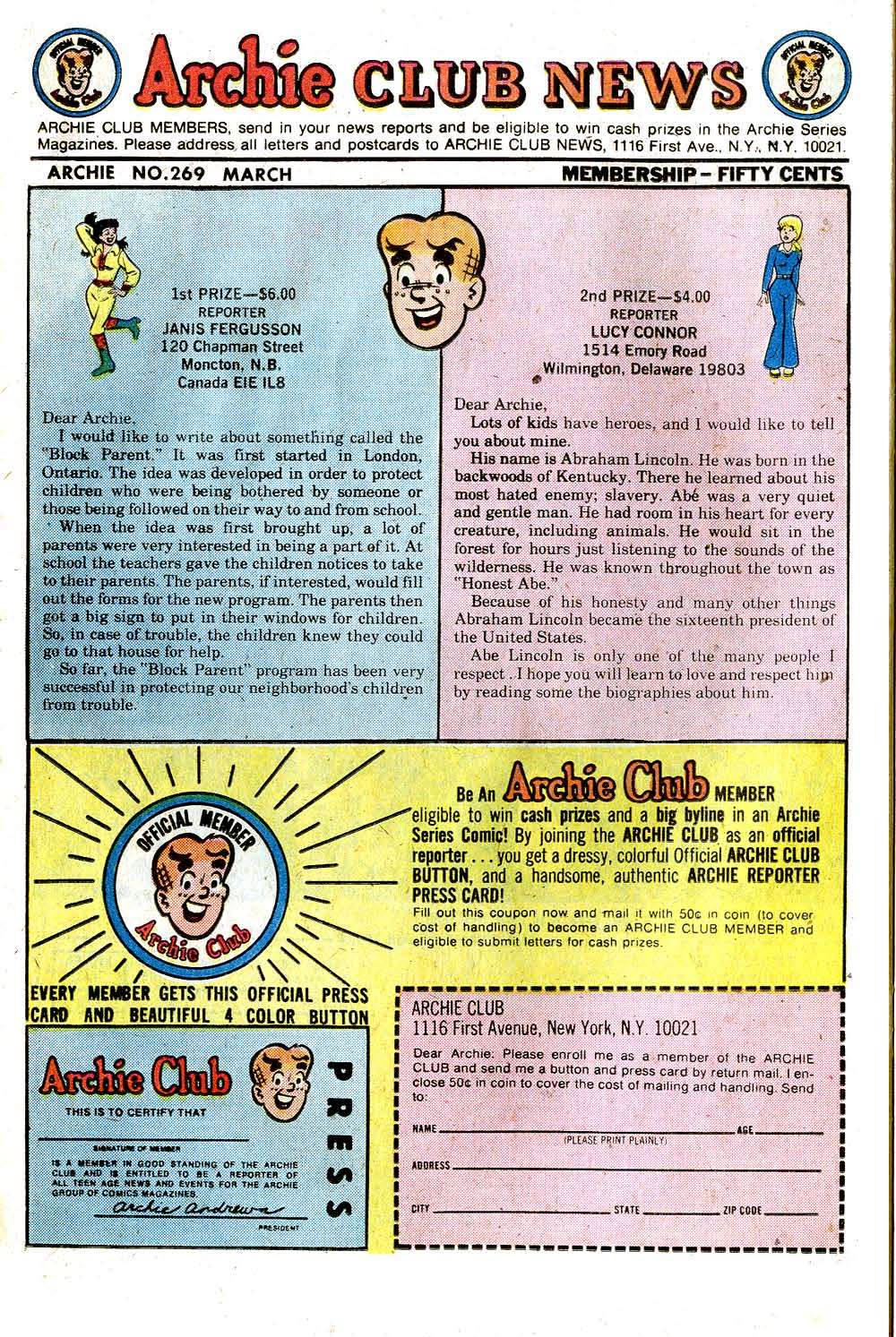 Read online Archie (1960) comic -  Issue #269 - 26