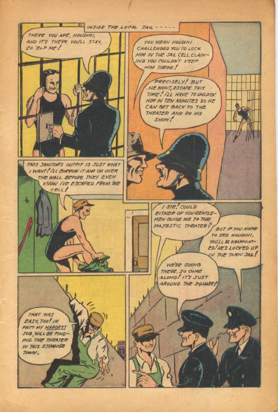 Read online Super-Magician Comics comic -  Issue #54 - 4