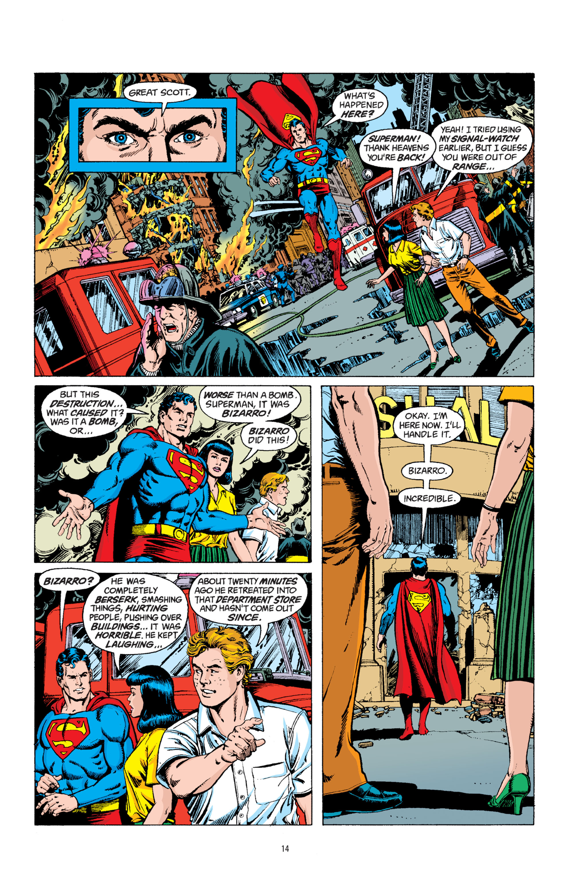 Read online Superman: Whatever Happened to the Man of Tomorrow? comic -  Issue # TPB - 13