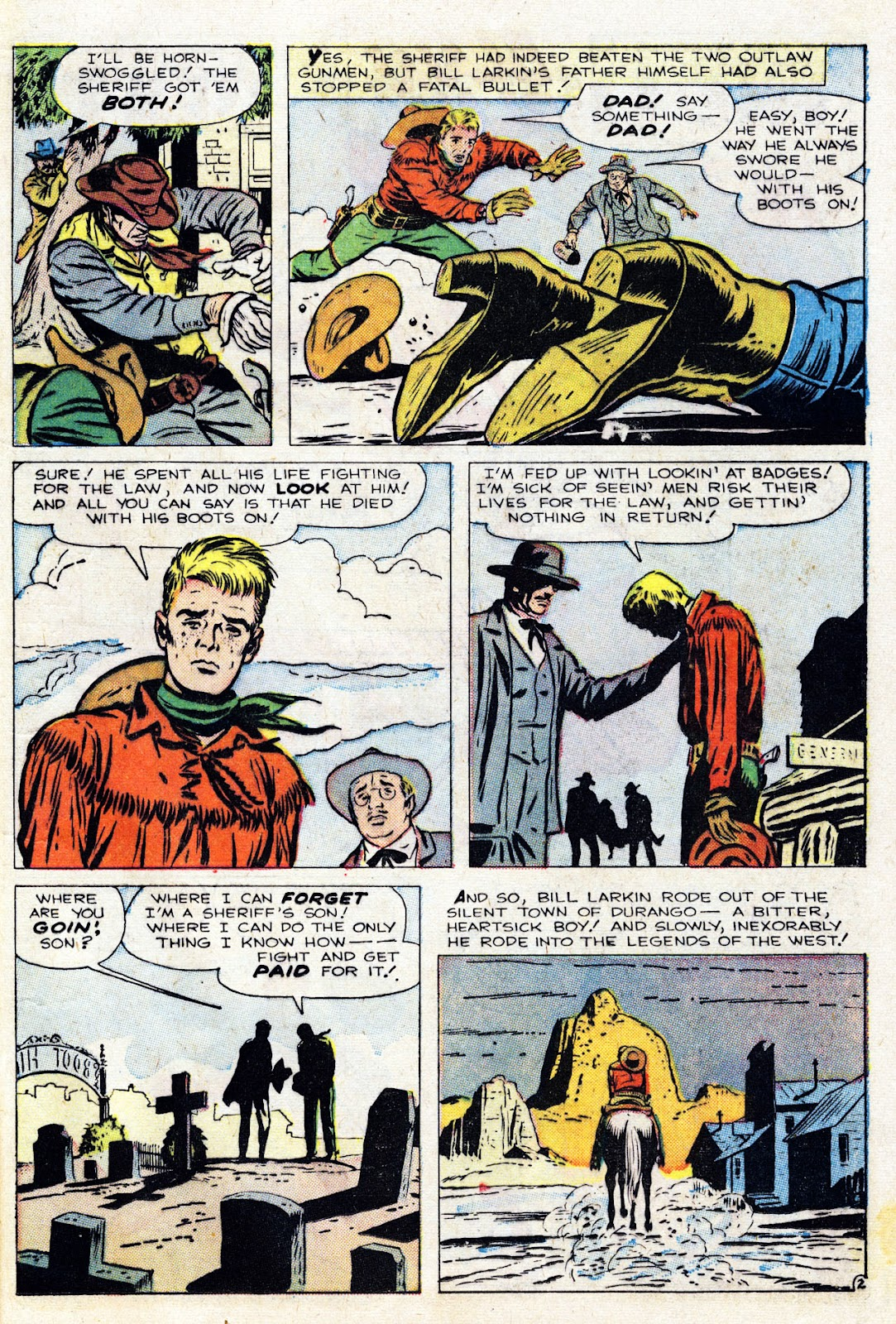 Gunsmoke Western issue 76 - Page 13