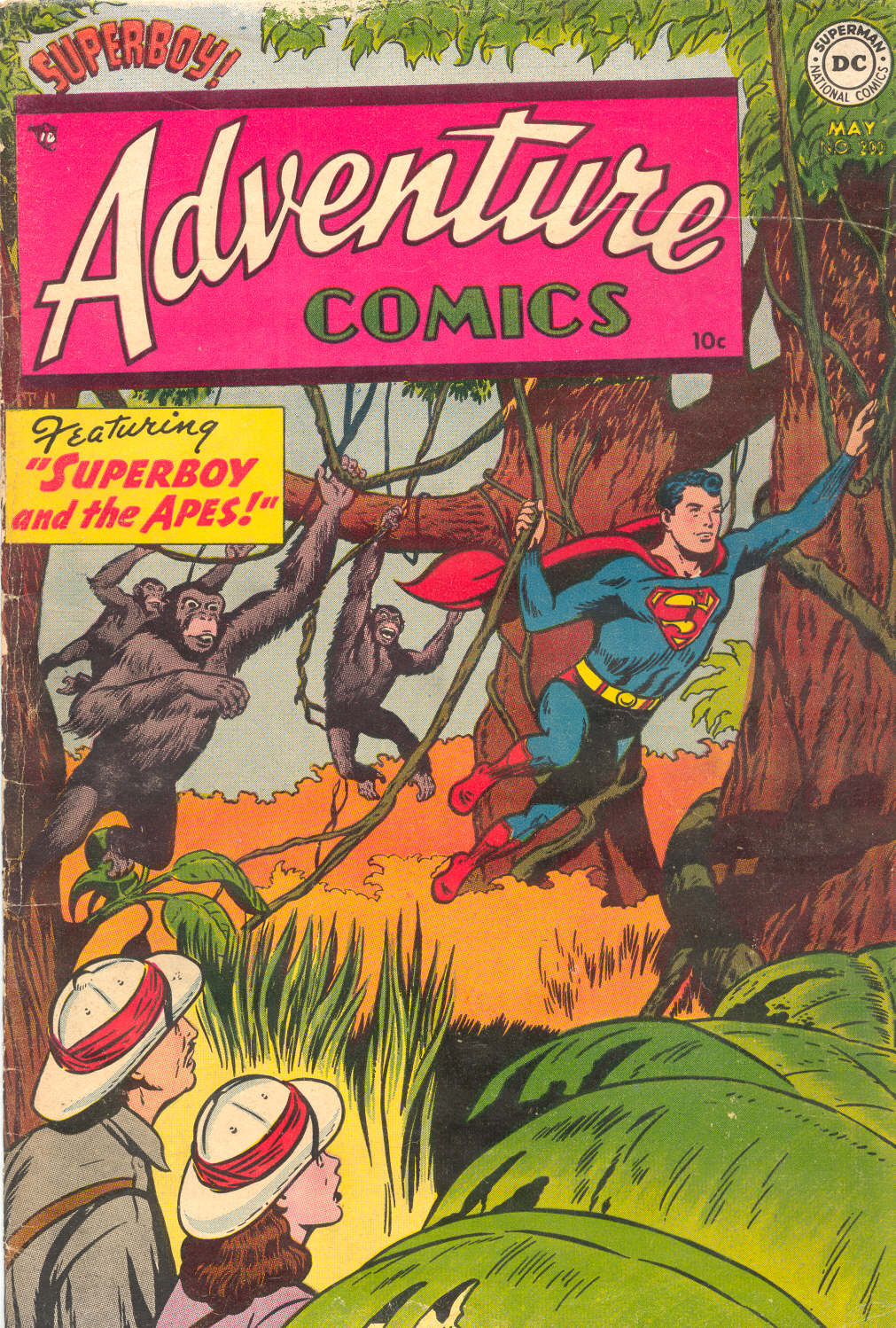 Read online Adventure Comics (1938) comic -  Issue #200 - 1