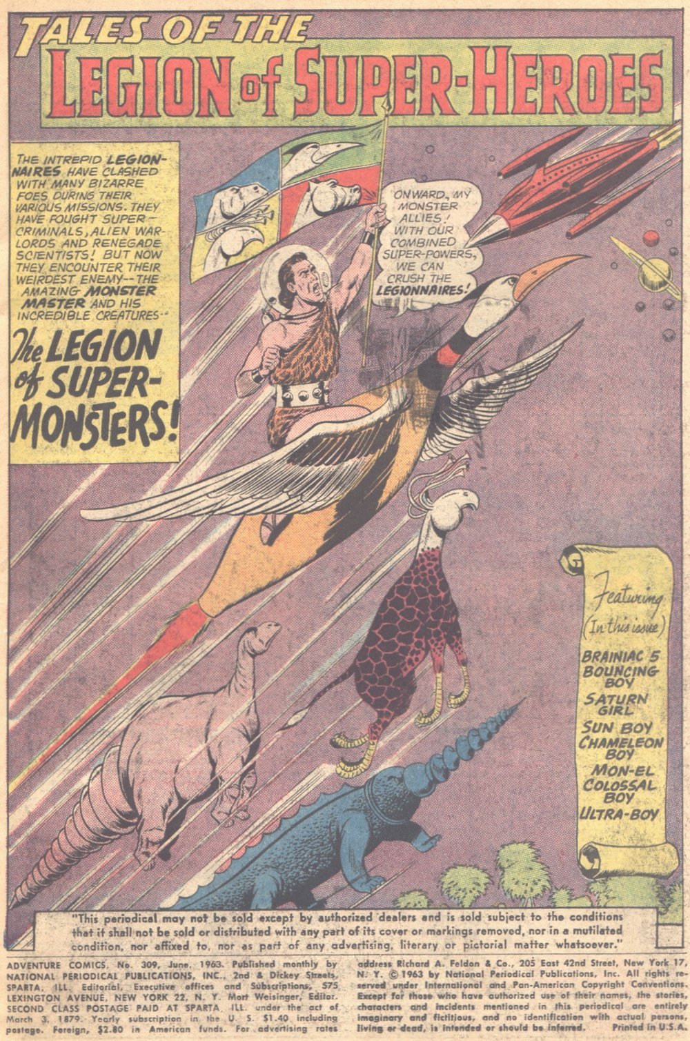 Read online Adventure Comics (1938) comic -  Issue #309 - 3